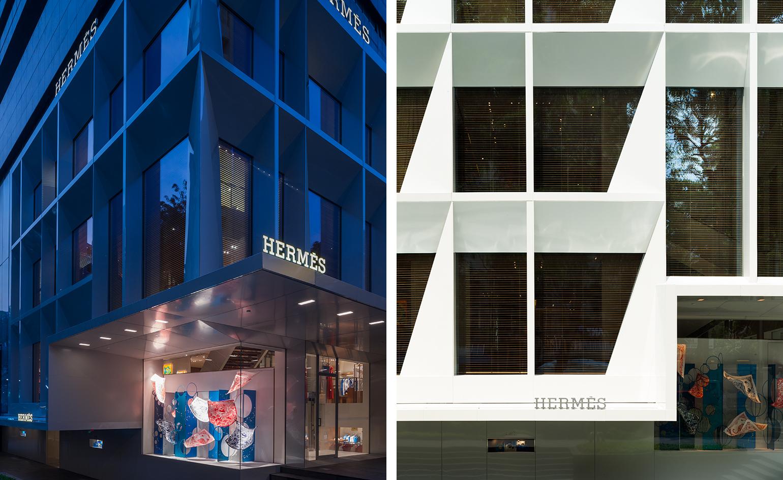 1  2. Nouvelle façade du magasin Hermès ... ac187a79aef